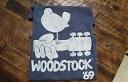 Woodstock And03969 Pre-owned T-shirt Grey Unisex Large Made In 2018