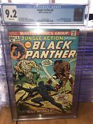 Jungle Action 6 Cgc 9.2 White Pages. 1st Killmonger 1st Solo Black Panther 1973