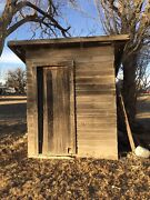 Vintage Barn Wood Lumber Farmhouse Outhouse You Pick Up Country Bathroom