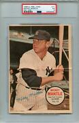 1968 O-pee-chee Posters 11 Mickey Mantle Psa 5 6487