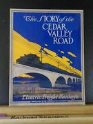 Story Of The Cedar Valley Road Electric Freight Haulage 1917 Reprint Soft Cover
