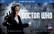 Doctor Who 14-disc Blu-ray Set The Complete Peter Capaldi Years B Blu-ray
