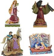 Disney Traditions Rapunzel Tangled Figurines By Jim Shore New In Gift Box