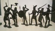 Vintage Toy Soldiers Hunters, Trackers, Neanderthals, Vikings Of The Ussr