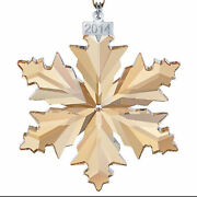 Crystal 2014 Scs Gold Ornament 5059027