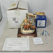 Hummel 2093 Signed And Scape 1011-d And039d 821/950 Exclusive Ed Oktoberfest Mib