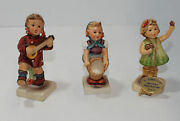 Hummel Figurine Lot Happiness, Little Helper,forever Yours Sign See Photo Ap