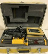Topcon 9220 Trackerjack Laser Receiver 9130 W/ Touch Series 5 Control Panel 9166