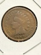 1907 Indian Head Penny