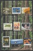 New Zealand 2013 Stamp Points Set 3 Best Of Mini Sheets Id83f/d51926