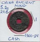 Chinaancient Ming Dynastyyongle Emperor1360-1424 Cecash Coinsthe Yongle Emp