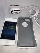 Apple Iphone 3 Or 4 Forgot Passcode Charger Otter Box Case It Works