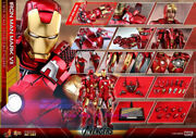 Hot Toys - Mms500d27–the Avengers - 1/6th Scale Iron Man Mark Vii Action Figure