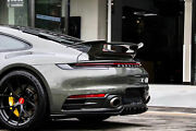 Frp Unpainted Auto Rear Wing Spoiler For Porsche 911 992 2020 To 2021 Ta Style