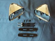 Chrome Mirrors Muscle Car Restomod Hot Rod Low Rider Classic Nos R Ford Mopar
