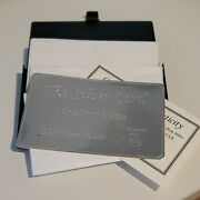 3 X 1 Oz 999 Silver Bullion Card Pyromet In Sleeves With Coa In A Cool Card Case