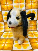 Vintage Rosko Battery Operated Chap The Obedient Dog Toy Tn Japan