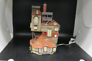 Dept 56 Villages - Harry Potter The Burrow - Light Up - Used