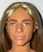 Barbie Fashionistas 138 Made To Move Hybrid Nude Ken Doll Long Blonde Hair New