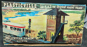 Vintage Ho Scale Plasticville Switch Tower 2402-79,yard Building,snap-fit
