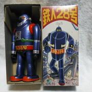 Tetsujin 28 Go Tin Toy Action Figure Vintage Osaka Toys From Japan