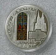 2010 Windows Of Heaven 10 Cologne 50 Grams Silver Proof 2k Minted 1st In Series