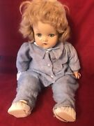 Antique Madame Alexander 20 Inch Composition/cloth Baby Doll