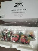 Department 56 North Pole Accessories. Last Minute Delivery And Toymakers Elves 3