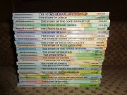 Rare Vintage Lot Of 23 1980s Alice In Bibleland Childrens Hardcover Story Books