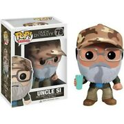 Uncle Si Duck Dynasty 78 Funko Pop Television Vinyl Figure