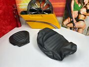 🔥08-20 Oem Harley Touring Cvo Road King Solo And Passenger Pillion Seat Cover🔥