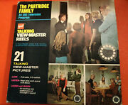 Vintage The Partridge Family Talking View-master Reels By Gaf 21 Pictures 1971