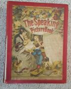 The Speaking Picture Book 8 Color Plates Animal Noises Germany Ca. 1890and039s