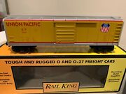 🚂mth 30-7430 Union Pacific Rounded Roof Boxcar Nib