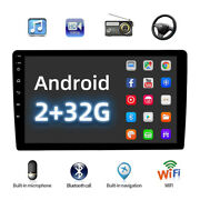 9android 10 Car Radio Stereo Gps Navi Mp5 Player Wifi A7 Quad Core Mirror Link