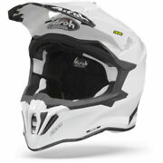 Airoh Strycker White Motorcycle Helmet - New Free Shipping