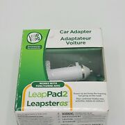 Leap Frog Leappad2 Leapstergs Car Adapter Lighter Charger Cable 6ft Cord