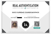 Courier Soft Gg Supreme Backpack Canvas Patches Beige Limited Edition