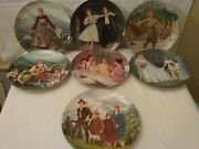 Complete Collection Of Sound Of Music Knowles Seven Collector Plates W/coa Boxes