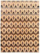 Hand-knotted Carpet 8'8 X 11'6 Transitional Oriental Wool Area Rug