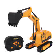 Remote Control Excavator Rc Construction Tractor Vehicle Digger Rc Car Toy Giftand