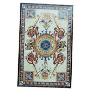 30x60 Inch Dining Table Top Marquetry Art Sofa Table For Office Decor Furniture