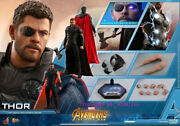 Hot Toys – Mms474 - Avengers Infinity War – 1/6th Scale Thor Action Figure Toy