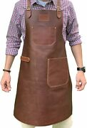 Leather Apron - Grill Apron Bbq Apron Woodworking Apron Barber Apron