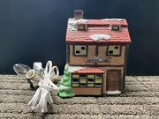 1991 Lighted General Store National Decorations Christmas Collectibles Village