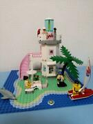 Lego System Town Paradisa Dolphin Point 6414 In 1995 Used Retired