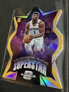 2019 Panini Optic Contenders Gold Superstar Zion Williamson 06/10 Rc Rookie