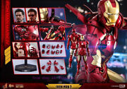 Hot Toys - Mms461d21 - Iron Man 2 - 1/6th Scale Mark Iv Action Figure Stock Toy
