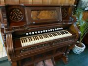 Story And Clark Antique Pump Organ In Good Condition