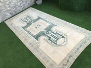 5and0394and039and039x11and0396and039and039 Vintage Turkish Rugoushak Extra Large Rug Runnerwide Hallway Rug
